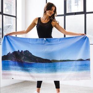 Fiji design- gym and beach towel